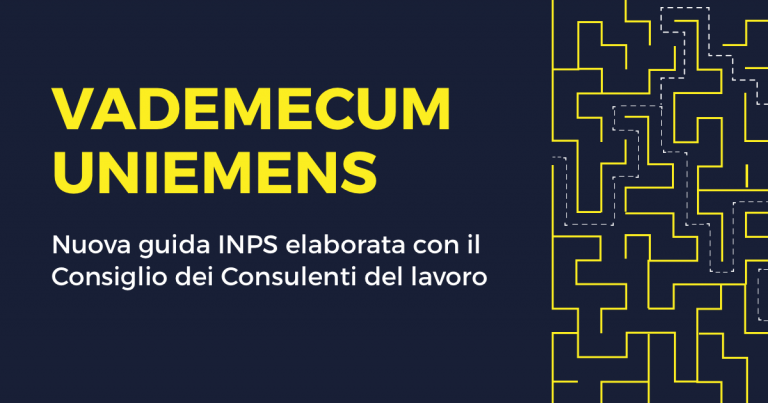 Vademecum UniEmens: una nuova guida INPS